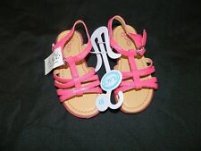 New Toddler Girls Size 10 Pink Childrens Place T Strap Sandals Shoes