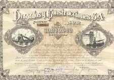 DRAGADOS Y CONSTRUCCIONES = LA MAS ANTIGUA = 1944