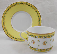 Raynaud Limoges BOUGAINVILLE tea cup and saucer