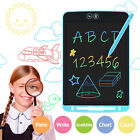 12'' Colorful Partial Erasing Doodle Pad Drawing Board LCD Writing Tablet Kids