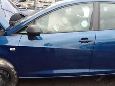 GENUINE 2008 - 2014 SEAT IBIZA MK5 5 DR NSF PASSENGER SIDE FRONT SHELL BLUE