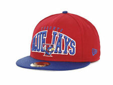 Toronto Blue Jays New Era 59FIFTY MLB Retro Logo Men's Fitted Cap Hat - Size: 8