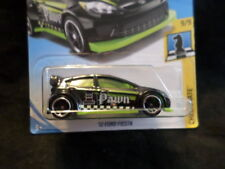 HW HOT WHEELS 2018 HW CHECKMATE #9/9 '12 FORD FIESTA BLACK/GREEN HOTWHEELS VHTF