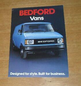 Bedford CF Brochure 1982-1983 - CF230 CF250 CF280 CF350