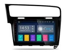 "RADIO GPS 10"" TÁCTIL VW GOLF VII ANDROID 8.1 HDMI CANBUS BLUETOOTH FULL RCA. 24H"