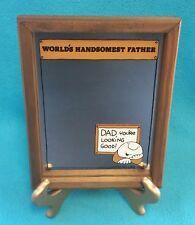 Vintage Ziggy Mirror~World's Handsomest Father~Best/Greatest Dad Gift~1979