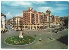 Postal gigante de Málaga. Calle Larios y Acera de La Marina. Ed. Fisa