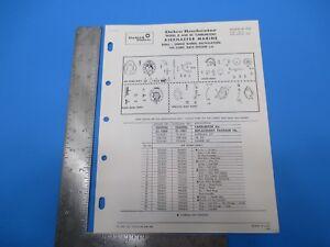 Rochester Carburetor Model 2GC Kiekhaefer Marine Bulletin 9C-1061 M3626