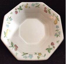 INDEPENDENCE IRONSTONE INTERPACE CHINA OLD ORCHARD PATTERN CEREAL BOWL