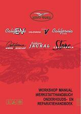 New listing Moto Guzzi workshop service manual California Stone Through 2003 model year