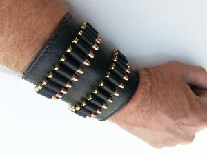 .22 .17 HMR Ammunition Wristband Forearm Ammo Cartiridge Shell Round Pouch Mag
