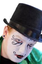 Halloween-regency-steampunk-gothic-punk-whitby noir chapeau haut une seule taille