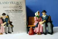 DEPT 56 New England Village WAITING FOR THE TRAIN!