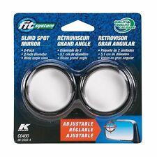 Fit System C0400 Driver/Passenger Side Stick-On Adjustable Blind Spot Mirrors