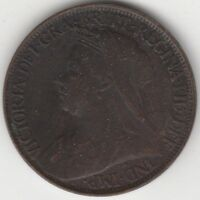 1900 Victoria Farthing***Collectors***(V2)