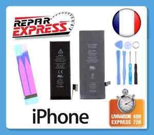 BATTERIE INTERNE NEUVE POUR IPHONE 4/4S/5/5C/5S/SE/6/6S/7/8/X/XR/XS MAX ET PLUS