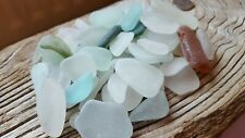 Beautiful Mixed Large Seaglass (natural) 200g - art materials - Imogen's Beach