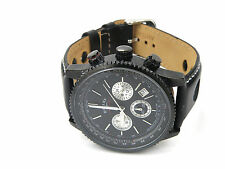 Rotary GB03778/04 Mens Black Aquaspeed Chronogrpah Date Tachymeter Watch