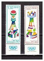 S30001) Israel MNH 1976 Chess Olympiade 2v