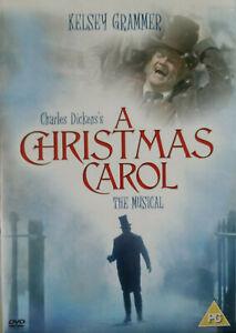 A Christmas Carol DVD Drama Fantasy Musical - 2004  Region 2 UK