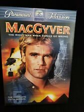 MacGyver: The Complete Fifth Season (Dvd) Complete Tested Vg