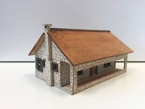 """MINIATURE MODEL CABIN 1/6"""" SCALE? DOLLS HOUSE DOLLHOUSE MAKERS TOY SHOP RAILWAY"""