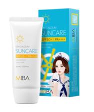 Miba Ion Calcium Suncare 60ml Spf50+ / Pa+ Sun Protection Korea Cosmetic