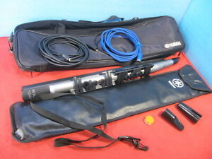 Yamaha WX5 Wind Controller MIDI Tested w/ Accessories Cable Soft Cases Strap