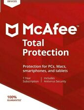 McAfee Total Protection 2020 unlimited Devices 1 Year 25 digit key download