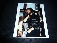 John Woo SIGNED AUTOGRAFO 20x25 cm in persona hard boiled