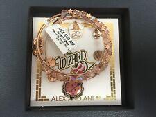 Alex and Ani Wizard of Oz Glinda's Wand Set of 3 Charm Bangle RAR W/Box