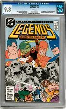 Legends #3 CGC 9.8 (W) 1st NEW SUICIDE SQUAD John Byrne