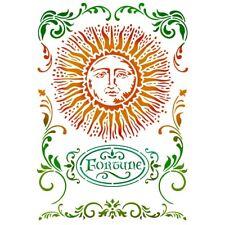Stamperia Alchemy Sun Stencil A4 -     NEW RELEASE