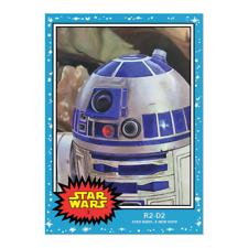 STAR WARS LIVING Topps 2019 Trading Card #3 R2-D2 A New Hope PR 2710