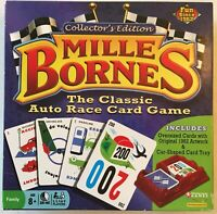 Mille Bornes Collector's Edition 2011 - Classic Auto Race Card Game - Car Tray
