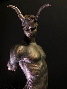 Erotic nude Male Torso Statue demon Jaydee  Models Sculpture Jonathan Dewar