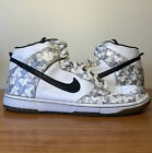 Nike Dunk High White Grey Snow Camo Size 11 Sneakers 309432-102