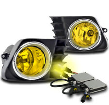 2012 2013 2014 TOYOTA PRIUS V YELLOW LOWER BUMPER FOG LIGHT LAMP W/3000K HID NEW