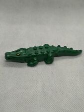 Lego lot 3 Alligators Minifigures dark green crocodile alligator croc Gator Zoo