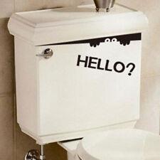 Funny Toilet Bathroom DIY Vinyl Removable Wall Sticker Mural Home Decals Decor