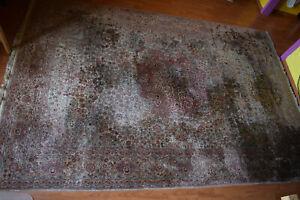 Teppich Sarough 277x186cm 6mm Orient Perser handgeknüpft alt old Vintage Carpet