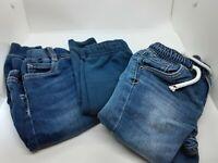 Lot of 3 pairs of baby boy pants levi's knit jogger cat & jack sweats 18M