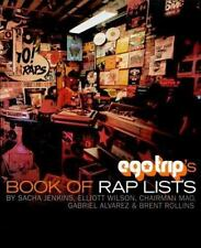 Ego Trip's BOOK OF RAP LISTS Sacha Jenkins PAPERBACK 1999 St Martins OOP