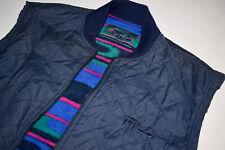 Fila Magic Line Wende Weste Reversible Vest Veste Vintage 90s 90er Italy 52 L-XL
