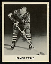 1965 COCA-COLA COKE ELMER VASKO EX-NM CHICAGO BLACK HAWKS HOCKEY CARD FREE SHIP