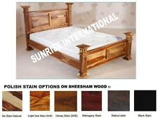 Maharaja Style Wooden King size Double Bed / Cot !