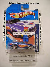 '69 FORD MUSTANG * 2011 Hot Wheels * Blue * HW Racing 5/10 * E7
