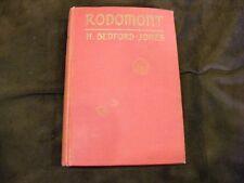"H. Bedford-Jones ""Rodomont"" 1925  HC/No DJ - Good Condition"