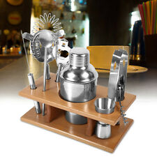 New Cocktail Shaker Mixer Drink Bartender Martini Tools for Bar 8pcs Set Kits