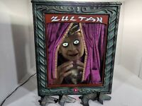Gemmy Zultan Animated Talking Fortune Teller Halloween No Microphone or cord